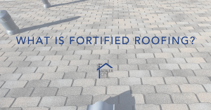 What is fortified roofing?