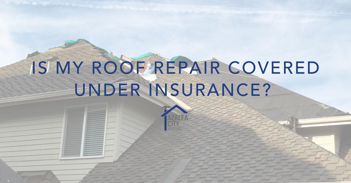 roof repair insurance