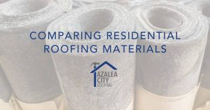 Residential Roofing Materials